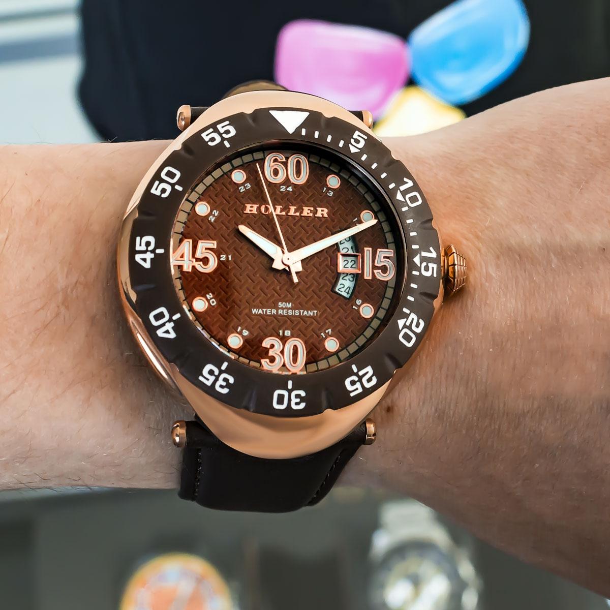 Goldwax Rose Gold Watch