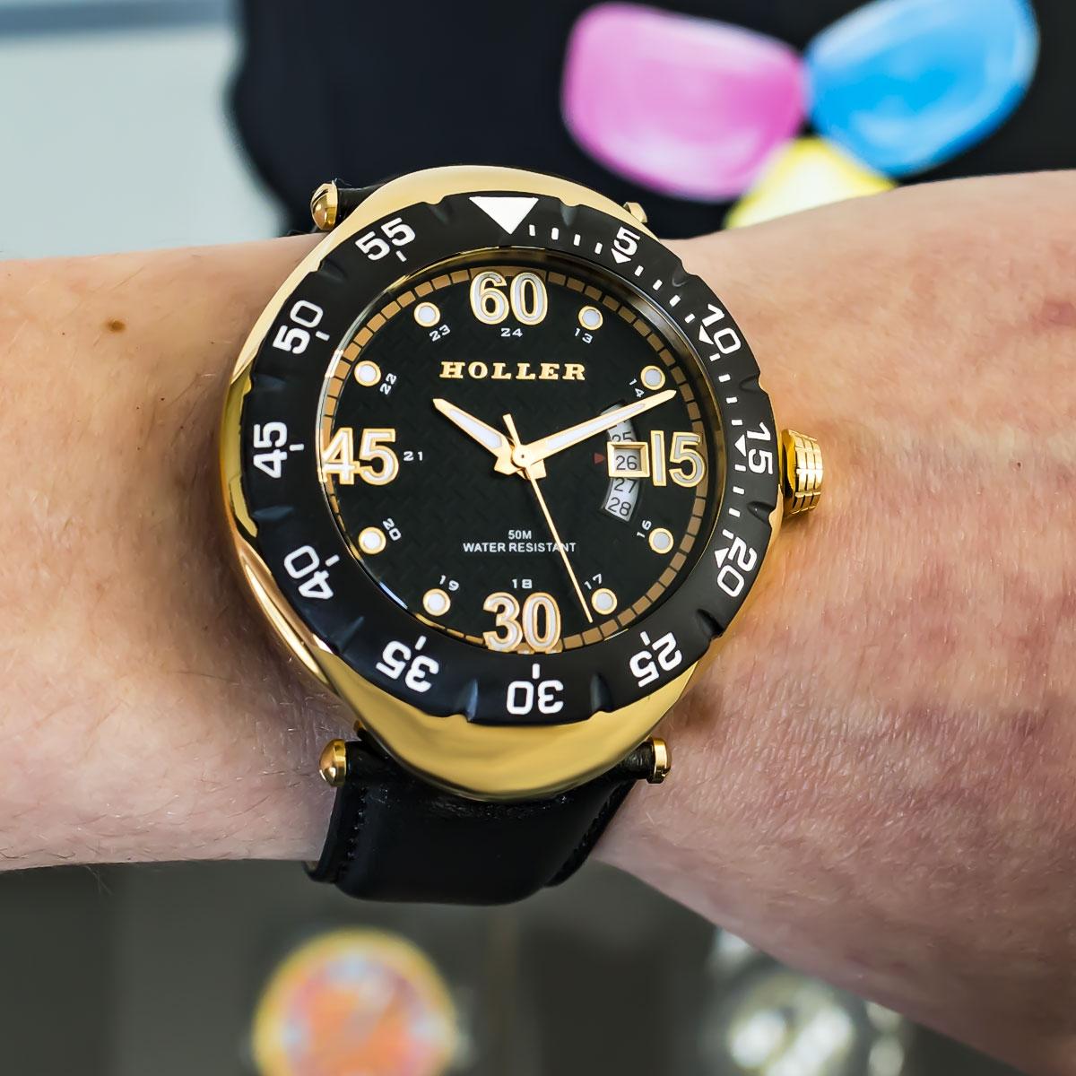 Goldwax Gold Watch