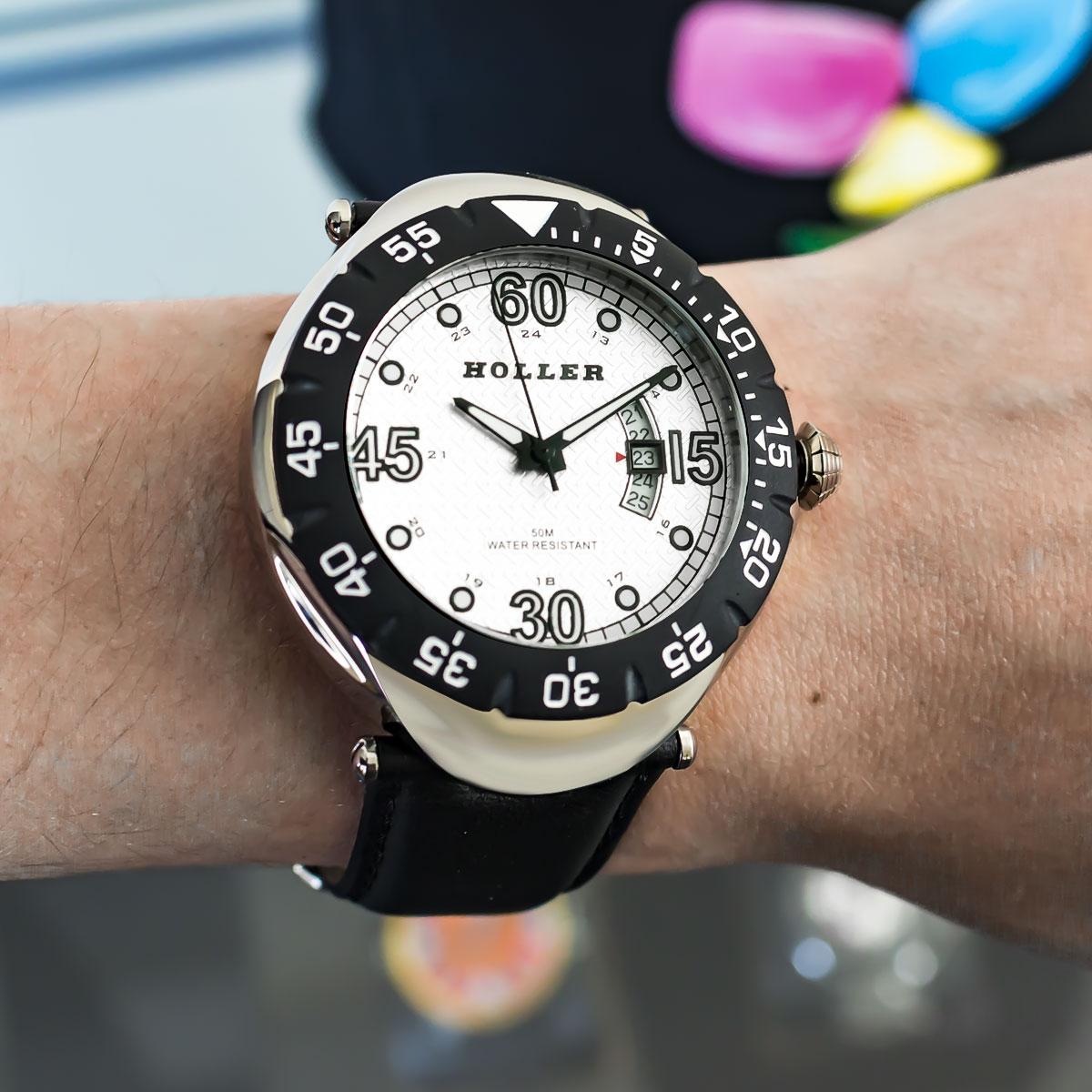 Goldwax Silver Watch