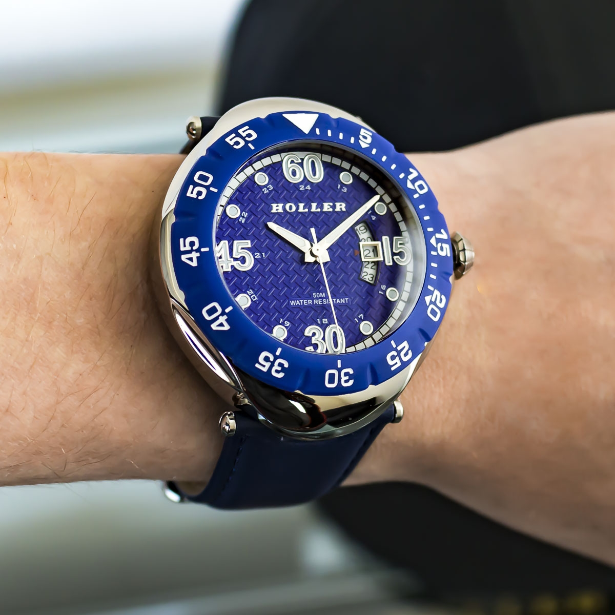 Goldwax Blue Watch