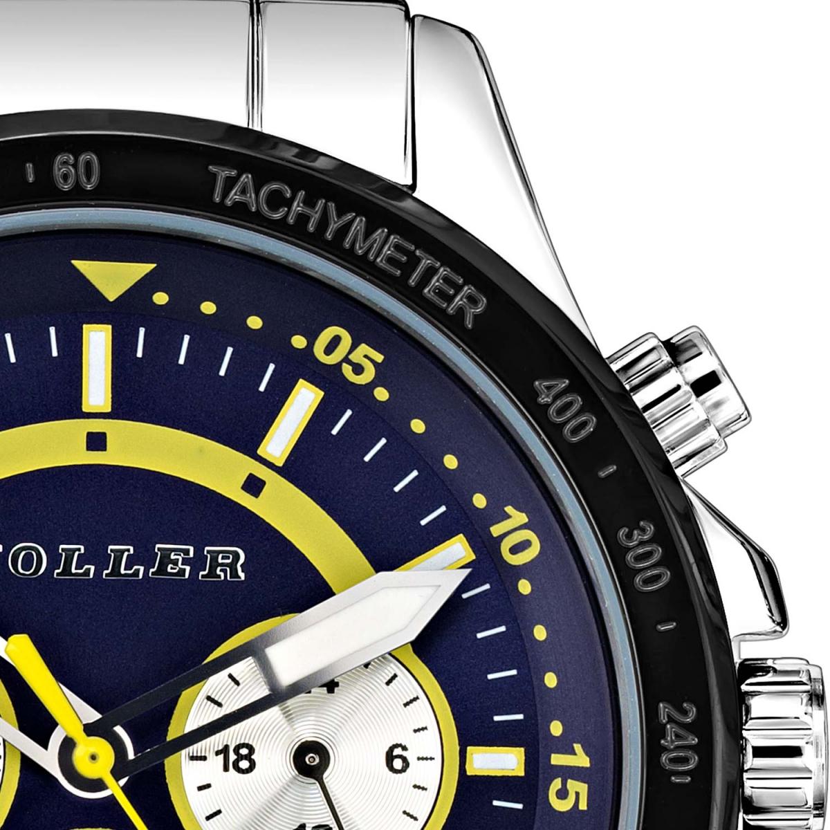 Invictus Blue & Yellow Watch