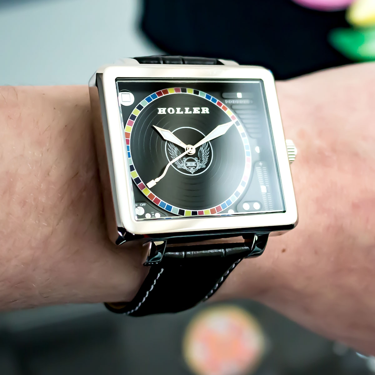 Techno Steel Watch