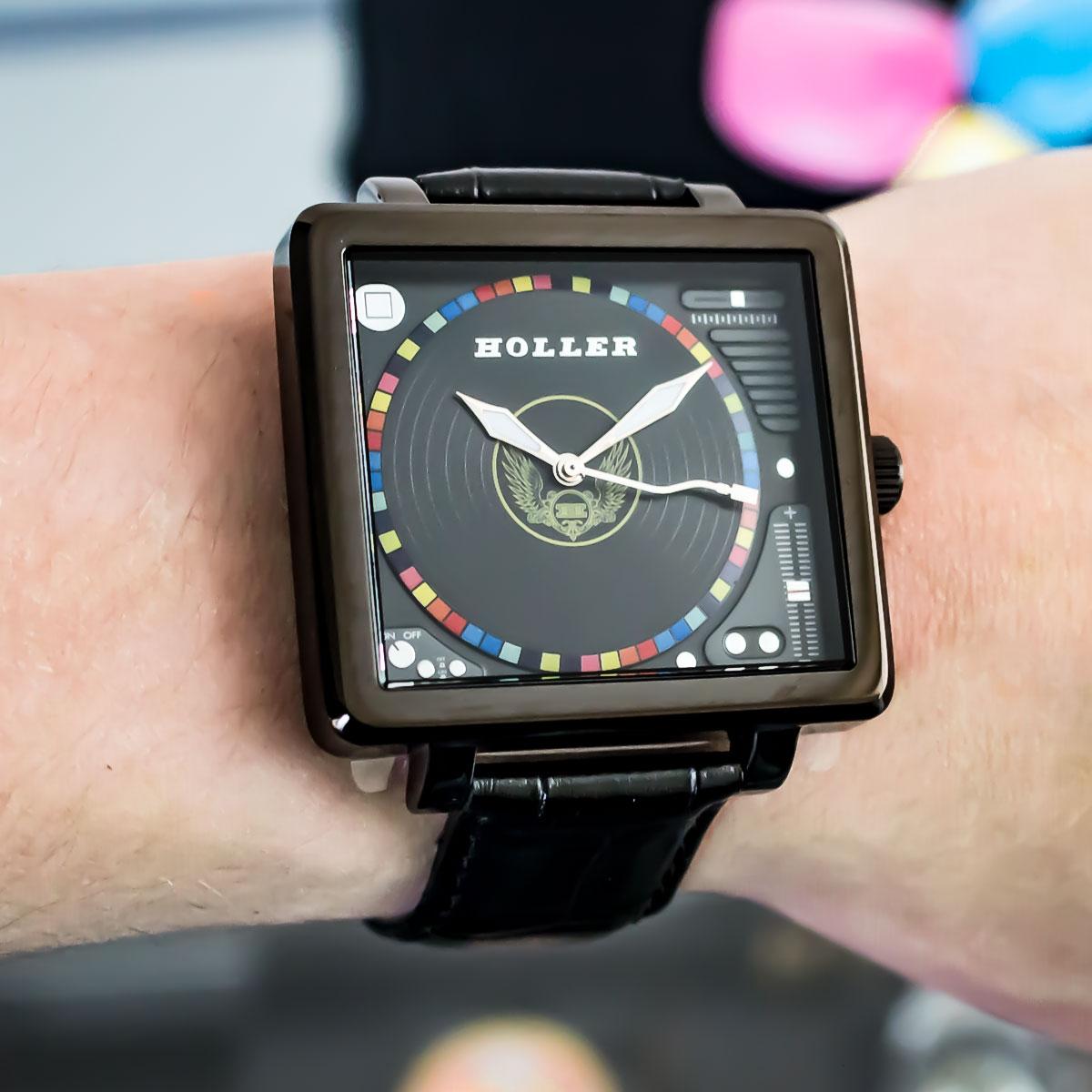 Techno Black Watch