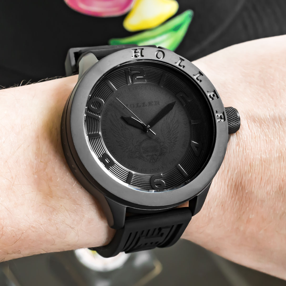 Blackalicious All Black Sport Watch