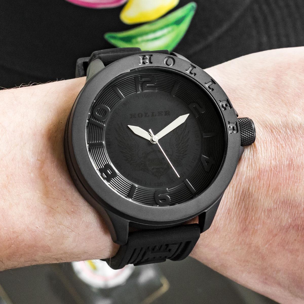 Blackalicious Silver Sport Watch