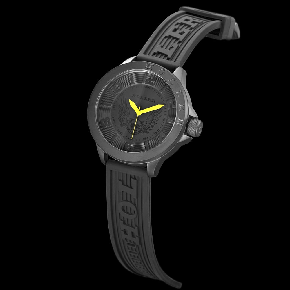 Blackalicious Yellow Sport Watch