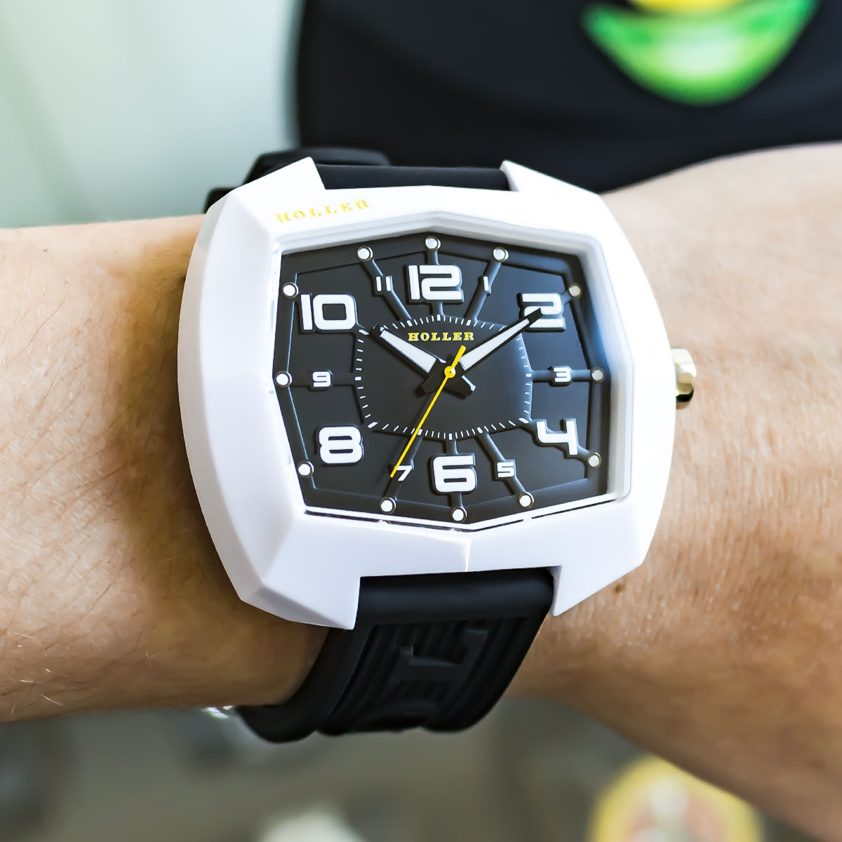 De Lite White Watch