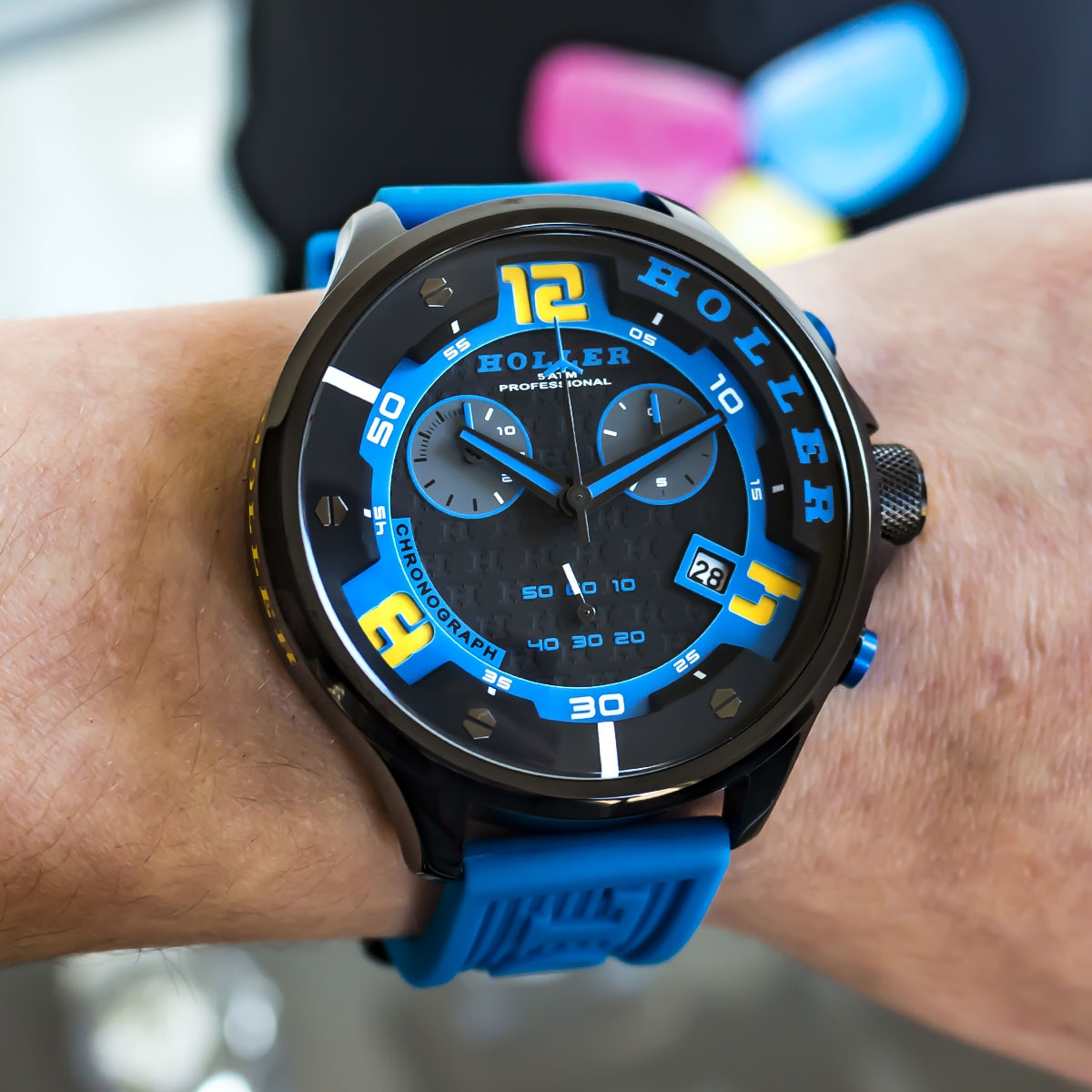 Stax Chrono Blue Watch