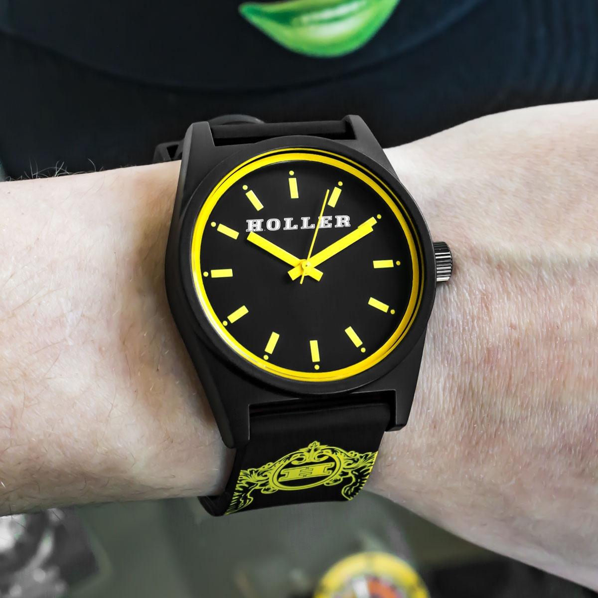Backbeat Black & Yellow Watch