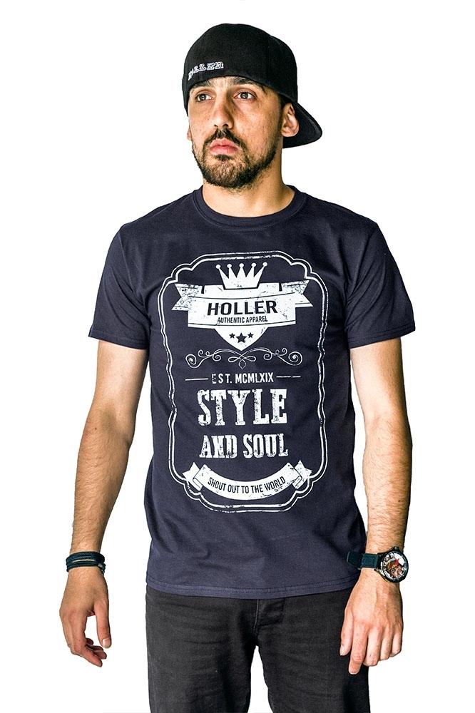 Mitchell Navy And White T-Shirt