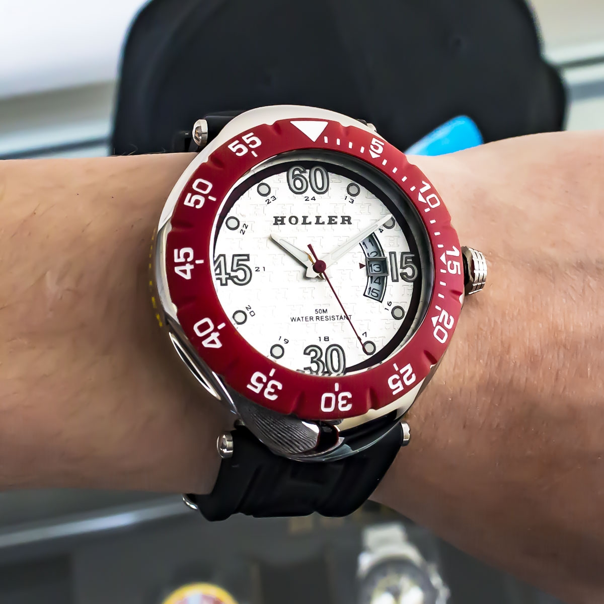Goldwax Sport Red Watch