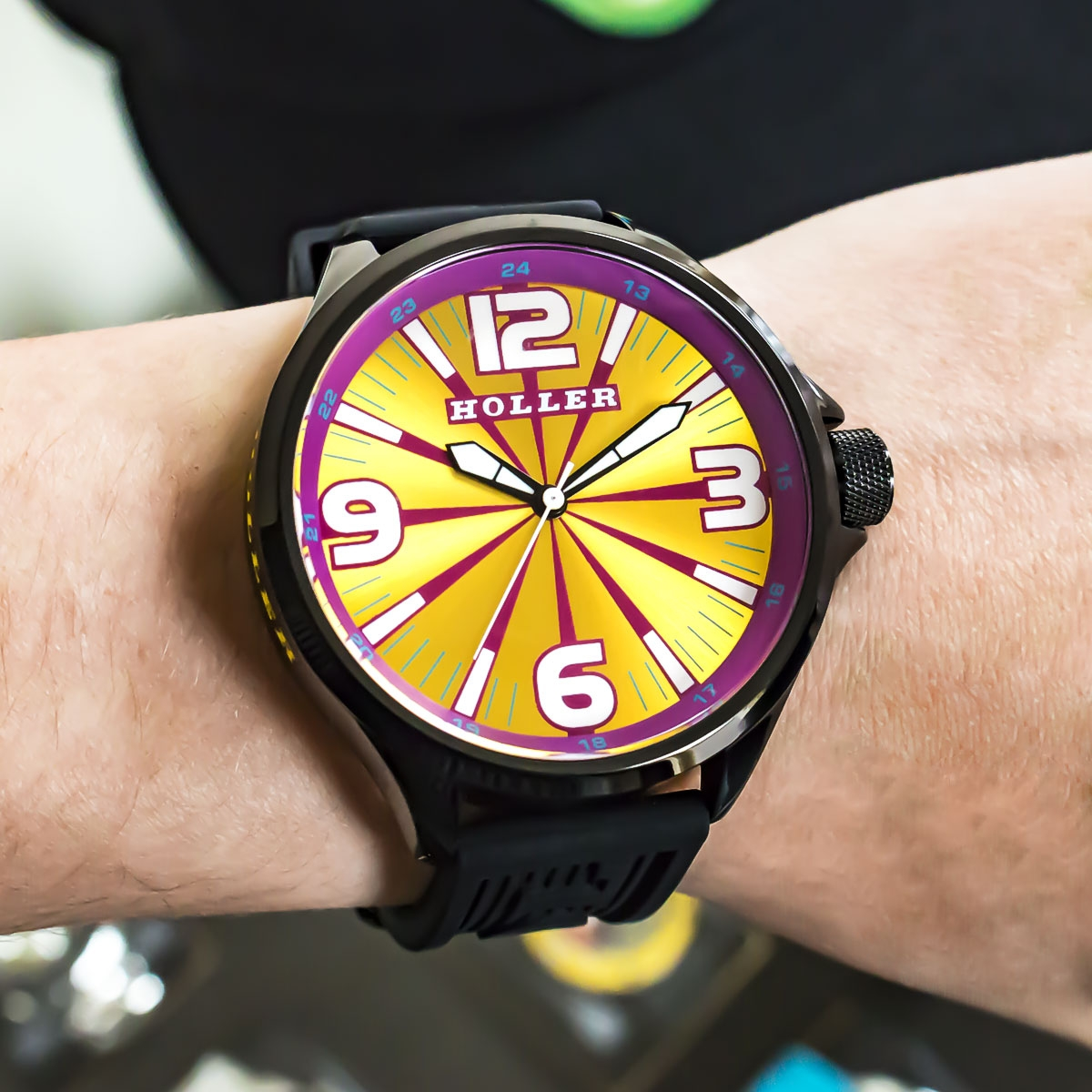 Funked Up Gold & Magenta Watch