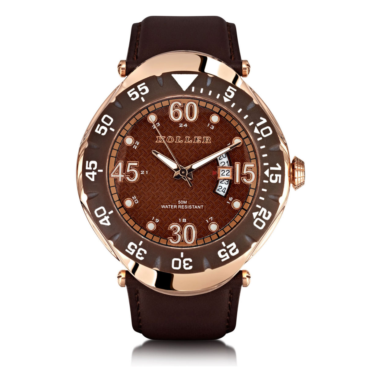 Goldwax Rose Gold Watch