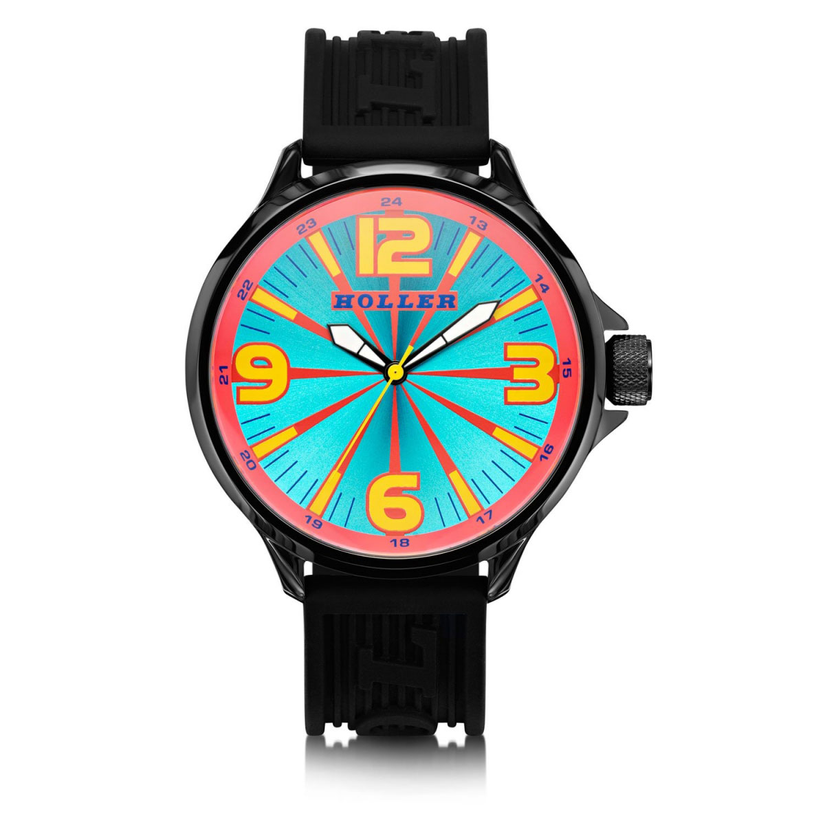 Funked Up Blue & Red Watch