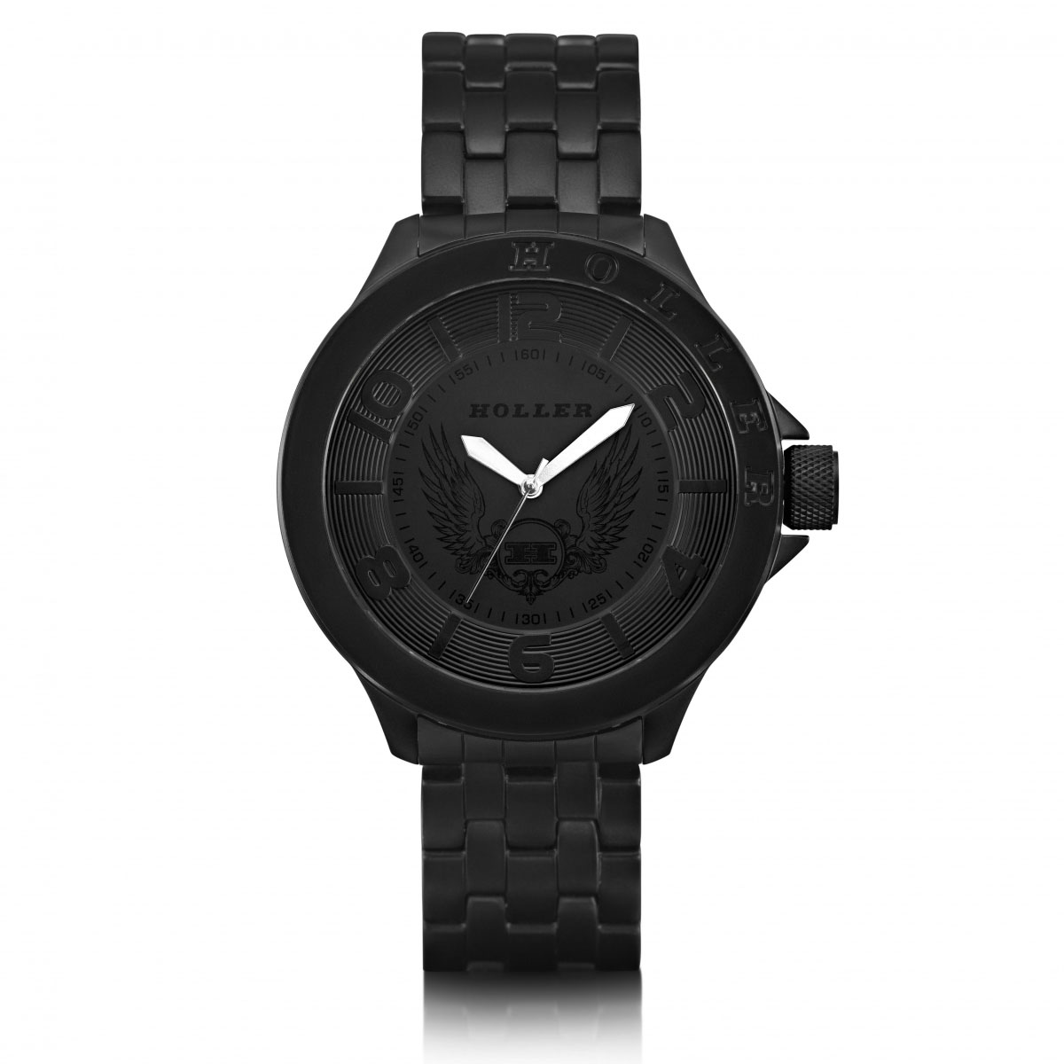Blackalicious Silver Classic Watch