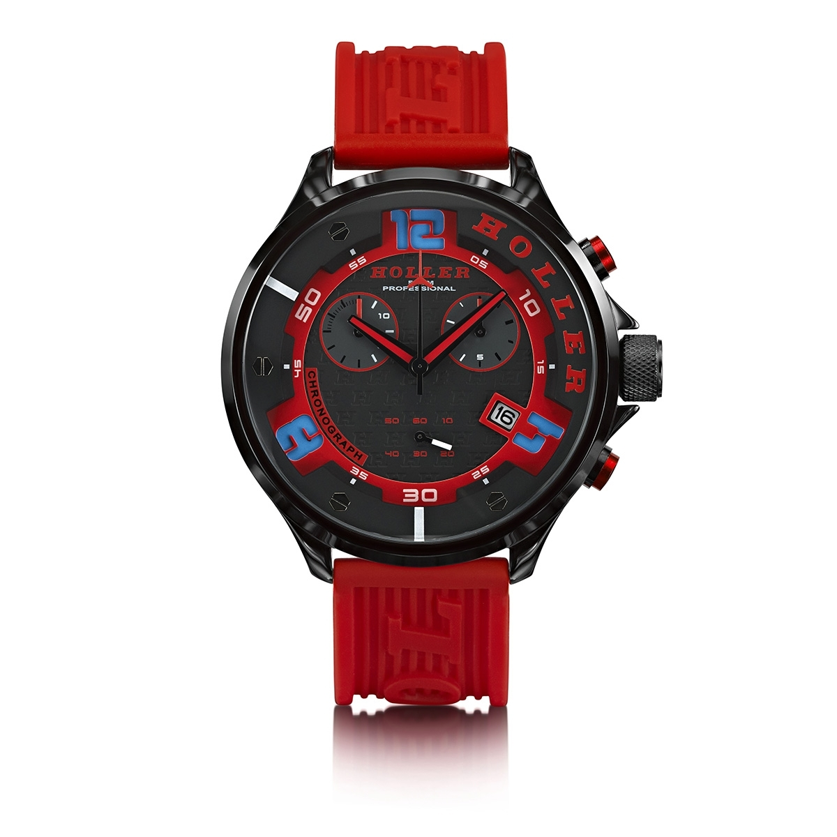 Stax Chrono Red Watch