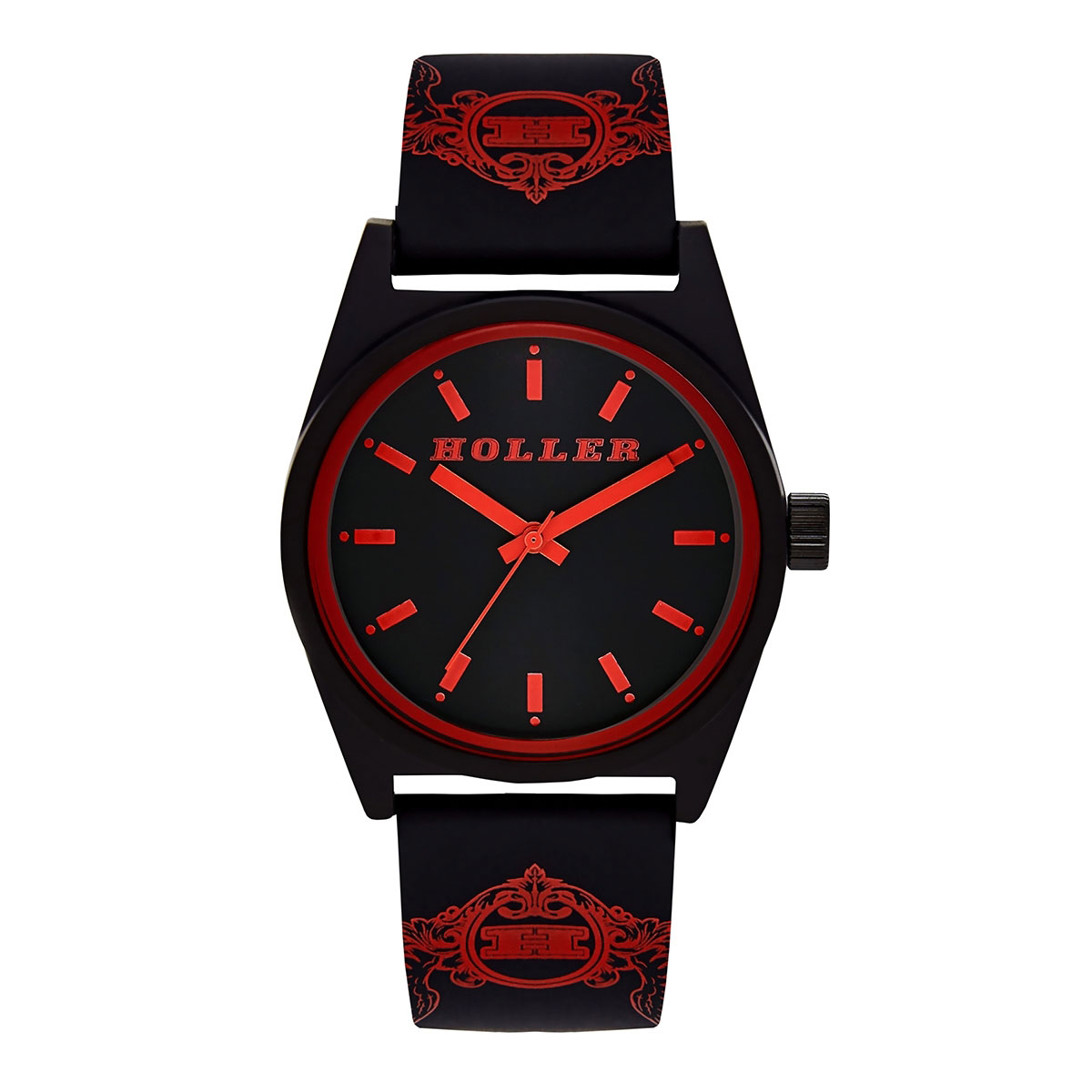 Backbeat Black & Red Watch