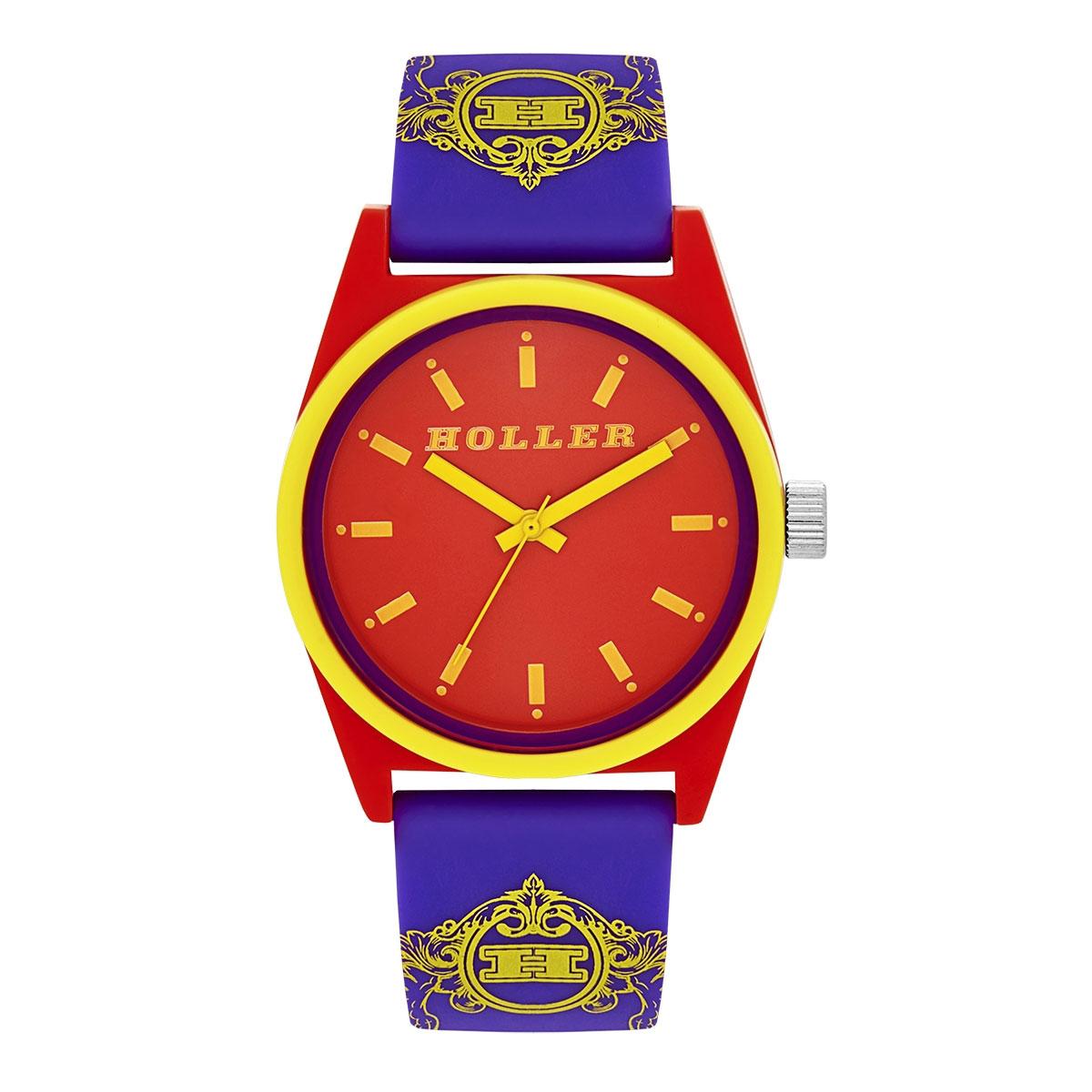 Backbeat Purple & Red Watch