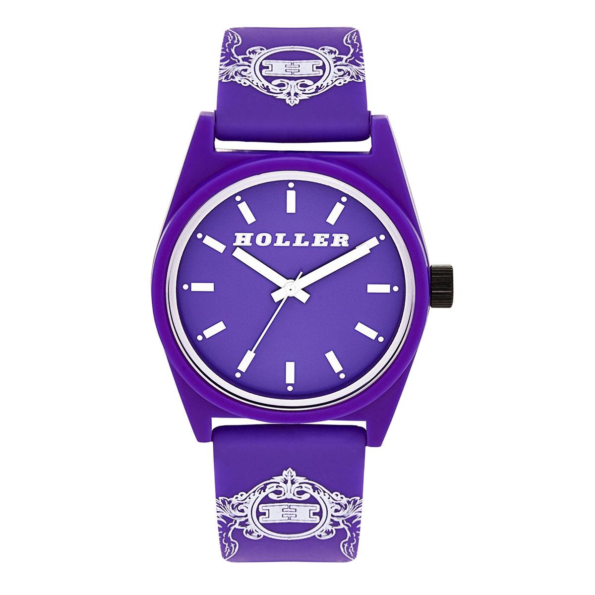 Backbeat Purple & White Watch