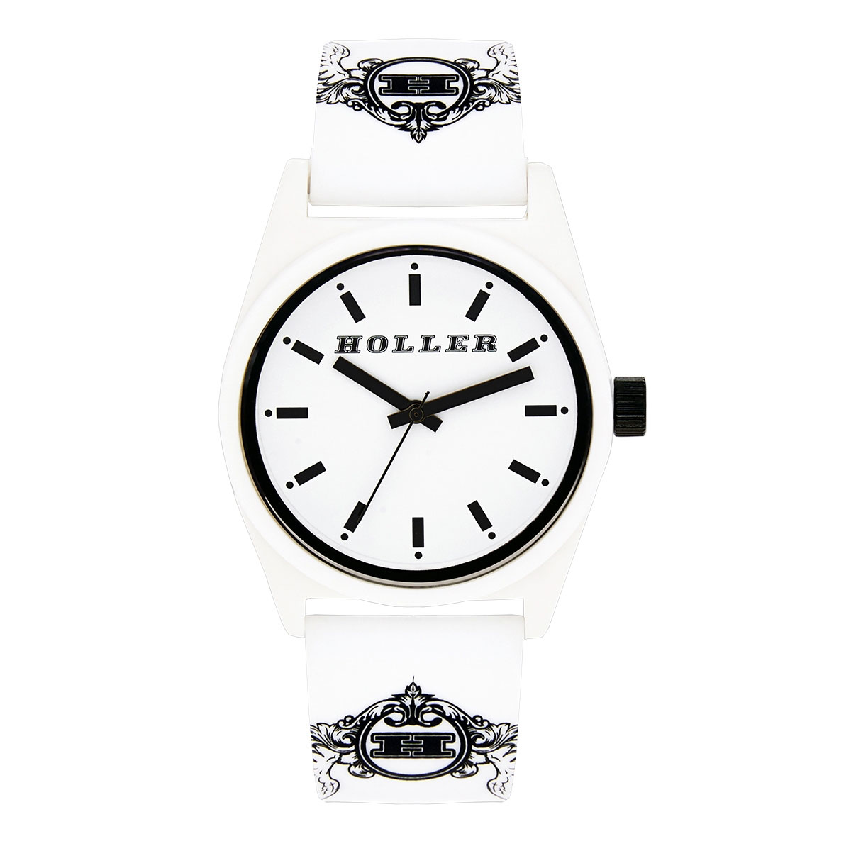 Backbeat White & Black Watch