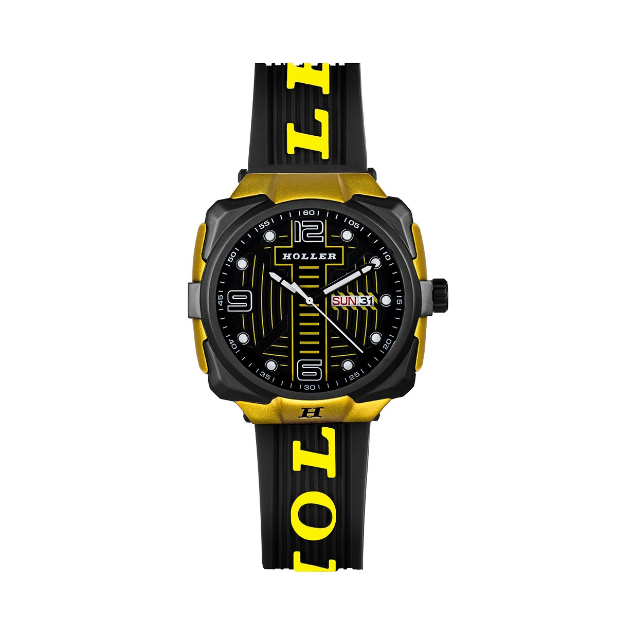 Impact Black & Yellow Watch