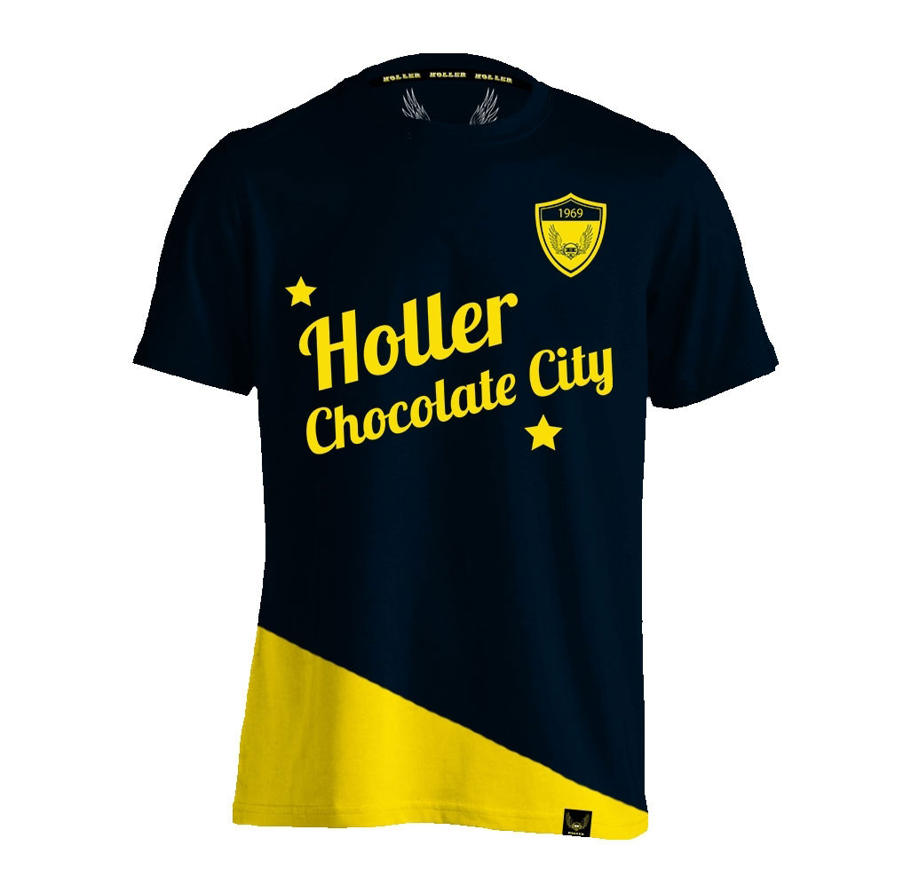 Holman Navy And Yellow T-Shirt