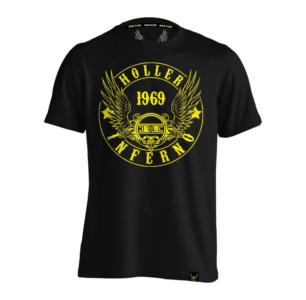 Jenkins Black And Yellow T-Shirt
