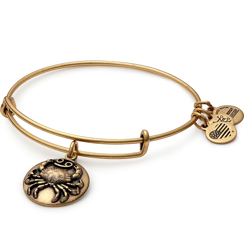 Alex and Ani Cancer Charm Bangle