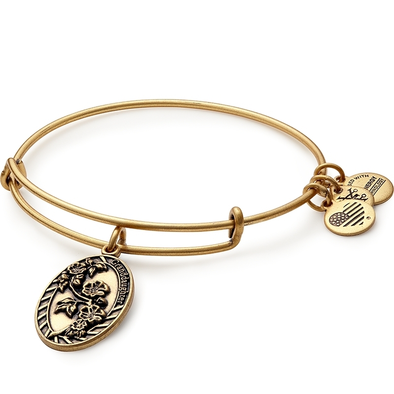 Alex and Ani Granddaughter Charm Bracelet