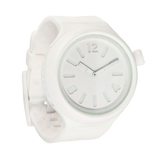 Wize and Ope White Jumbo Shuttle Watch JB-SH-1