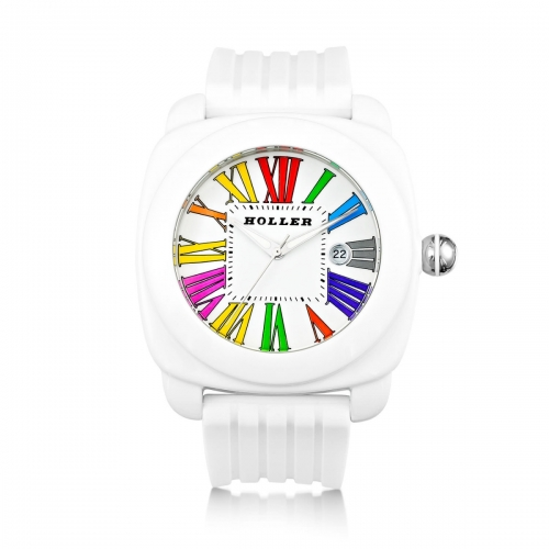 Holler Philly Multi White Watch