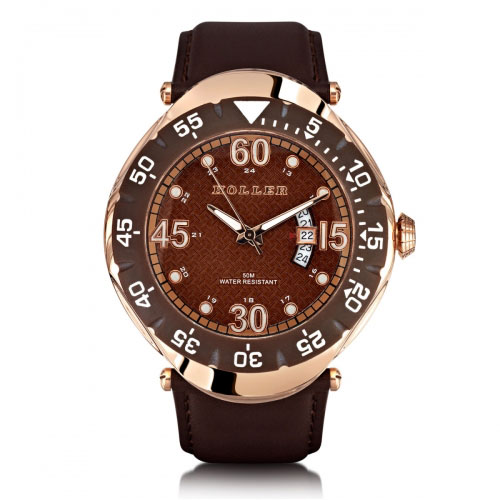 Holler Goldwax Rose Gold Watch