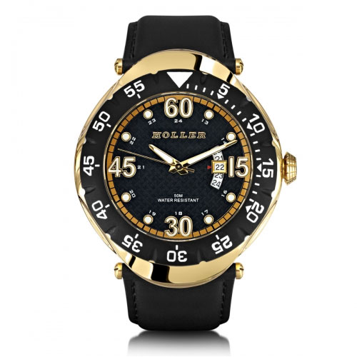 Holler Goldwax Gold Watch