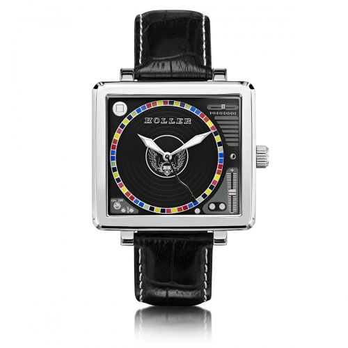 Holler Techno Steel Watch