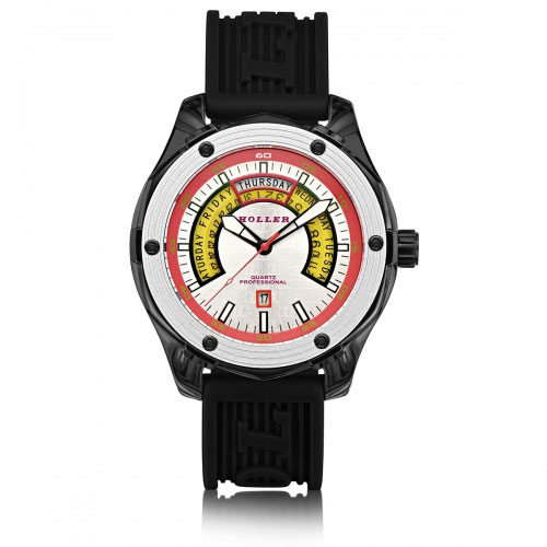 Holler Superfly Black & White Watch