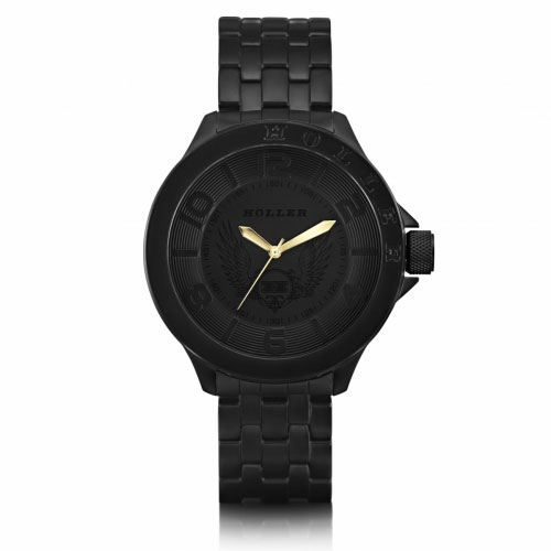 Holler Blackalicious Gold Classic Watch