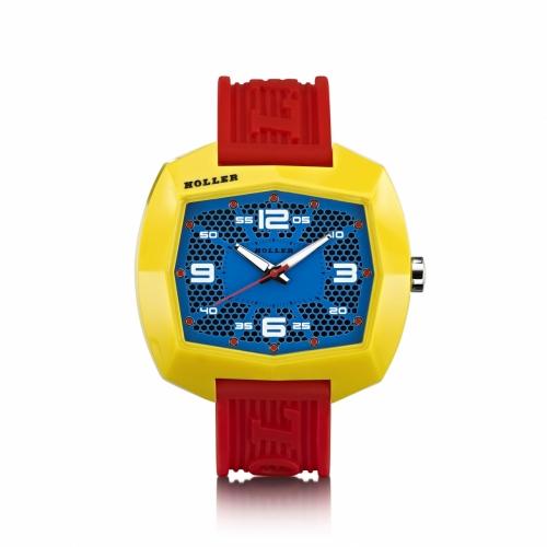 Holler Pimped De Lite  Red / Yellow / Blue Watch