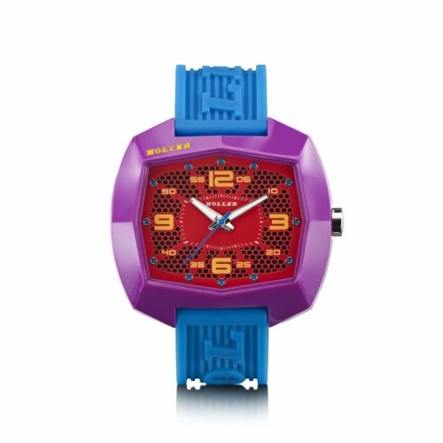 Holler Pimped De Lite  Blue / Purple / Red Watch