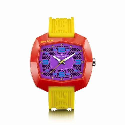Holler Pimped De Lite  Yellow / Red / Purple Watch
