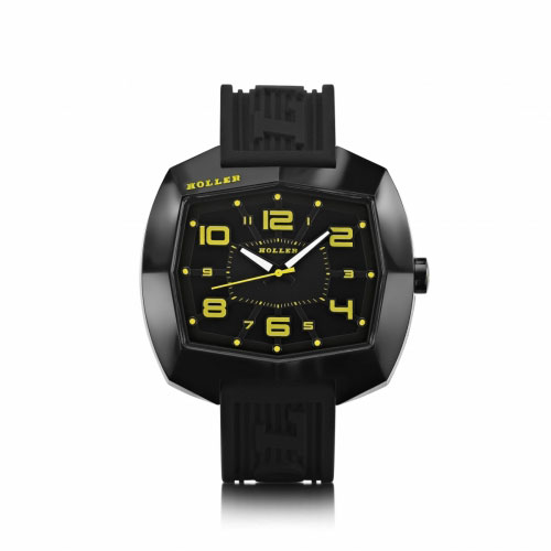 Holler De Lite Black & Yellow Watch