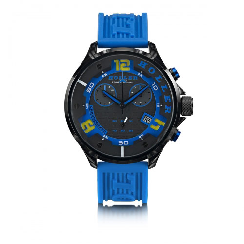 Holler Stax Chrono Blue Watch