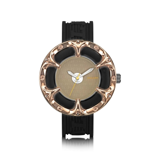 Holler Golden World  Rose Watch
