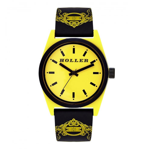 Holler Backbeat Yellow & Black Watch