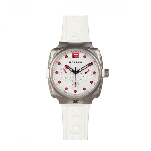 Holler Impact White Chrono Watch