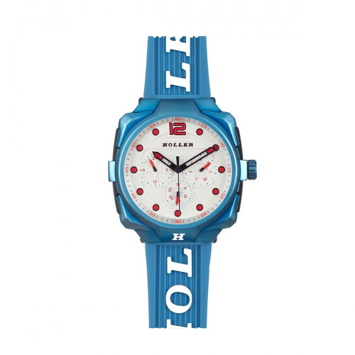 Holler Impact Blue Chrono Watch