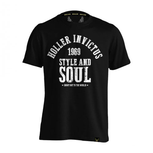 Holler Garvin Black And White T-Shirt