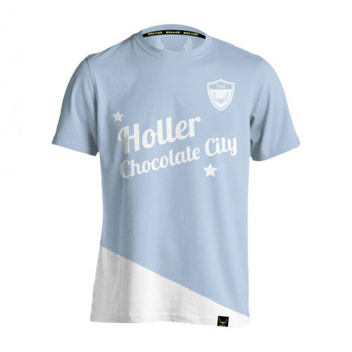 Holman Light Blue And White T-Shirt