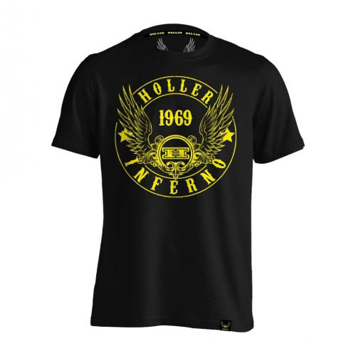 Jenkins Black And Yellow T-Shirt
