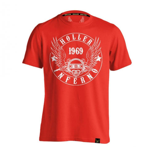 Jenkins Red And White T-Shirt