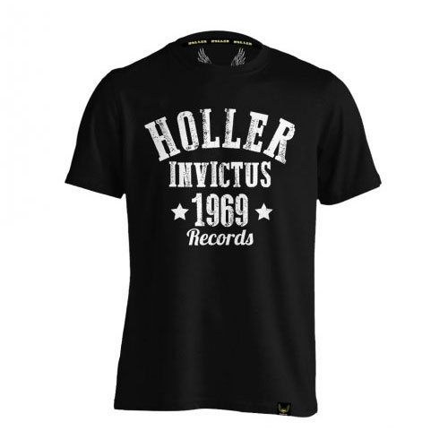 Holler Nomad Black And White T-Shirt